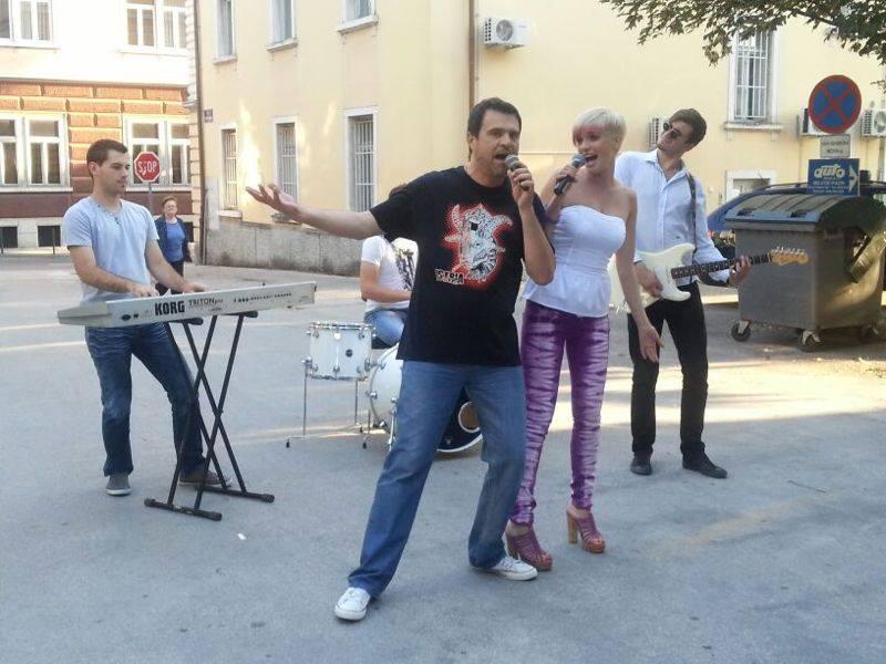 Alen Vitasović - Snimanje spota Volimo se kao ludi